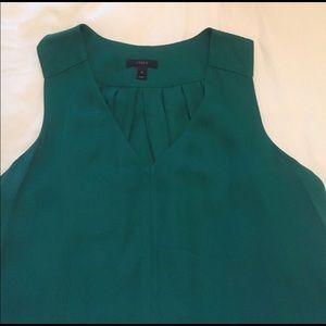 J Crew c-neck blouse